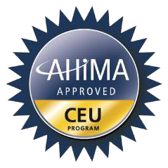 AHIMA CEU Approved Program Logo