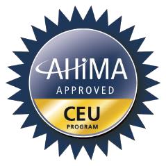 AHIMA CEU Approved Program Logo